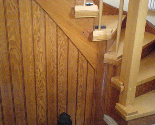 Treppensanierung an bestehender Treppe