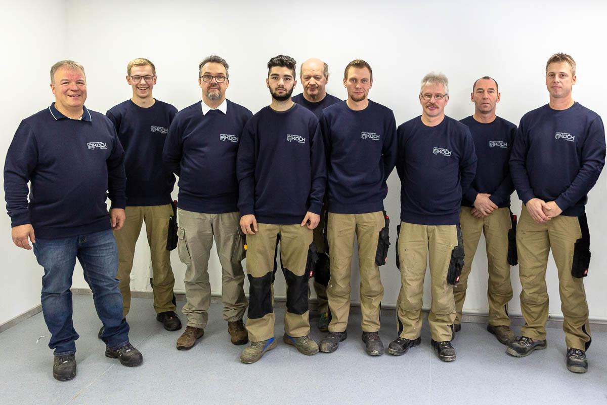 Team Tischlerei Frank Koch